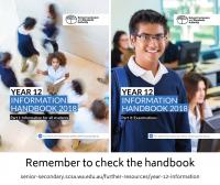 Year 12 Handbook 2018