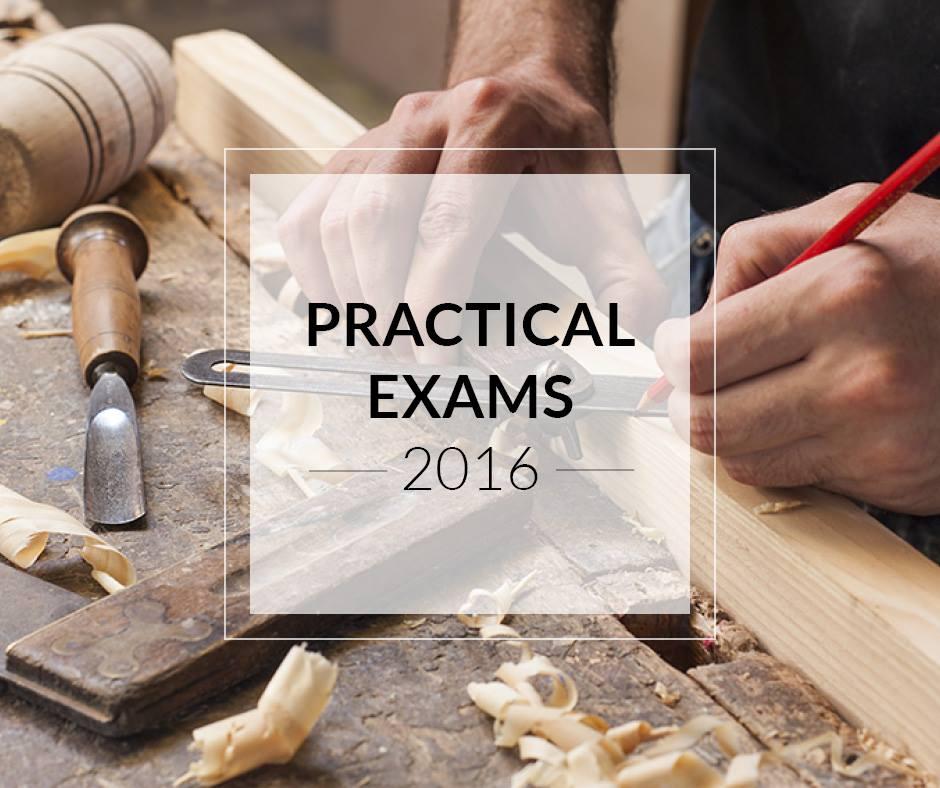 Practical exams 2016