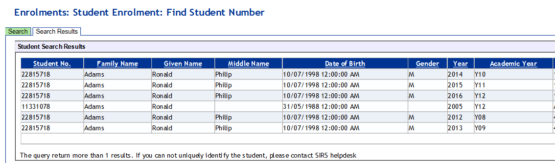how to find scsa student number